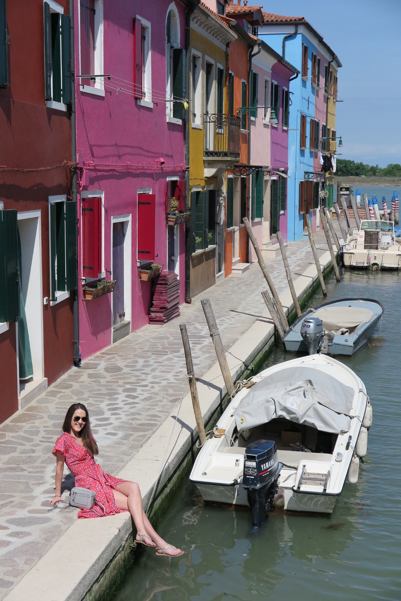 Coloured streets of Burano