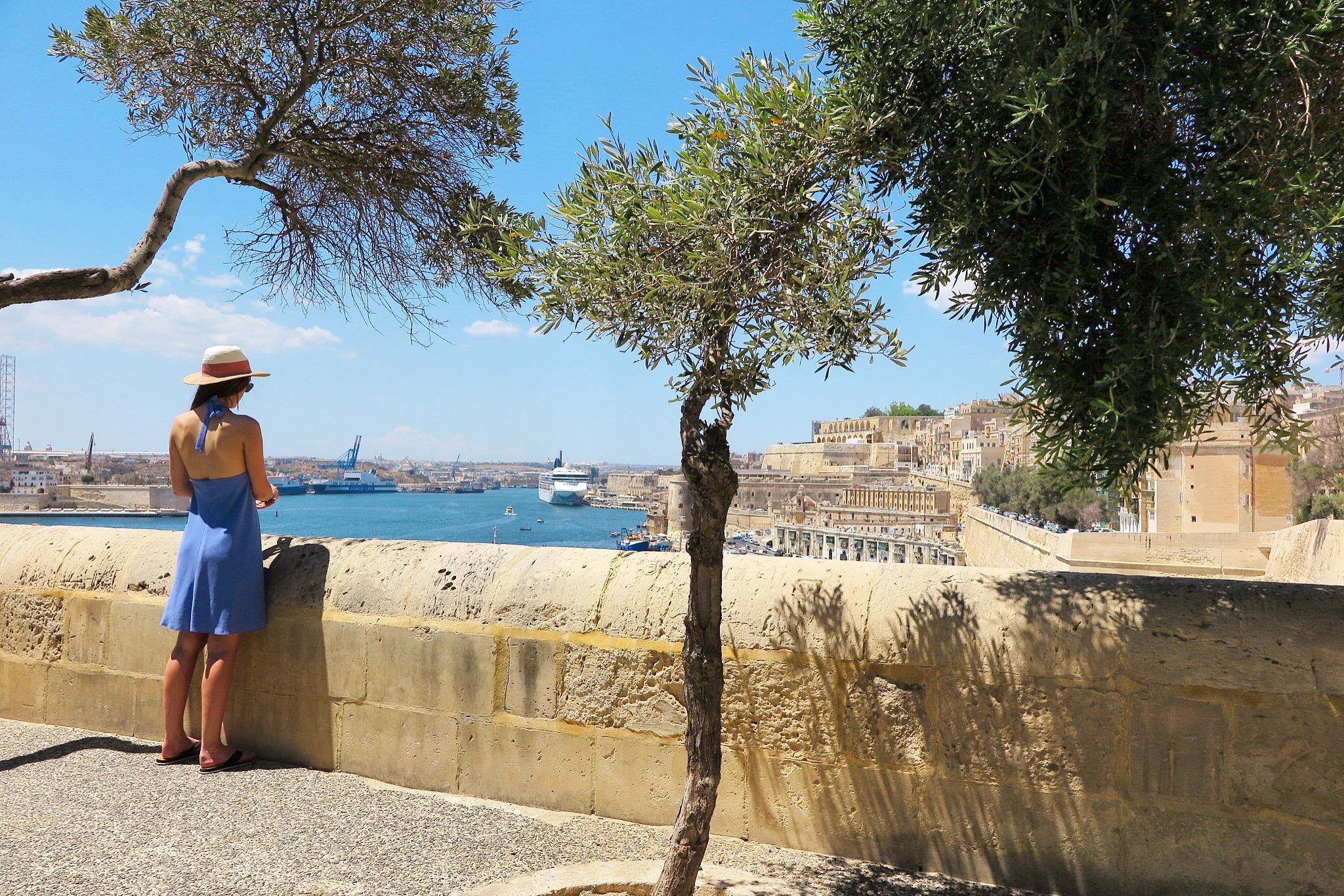 Barakka Gardens Malta