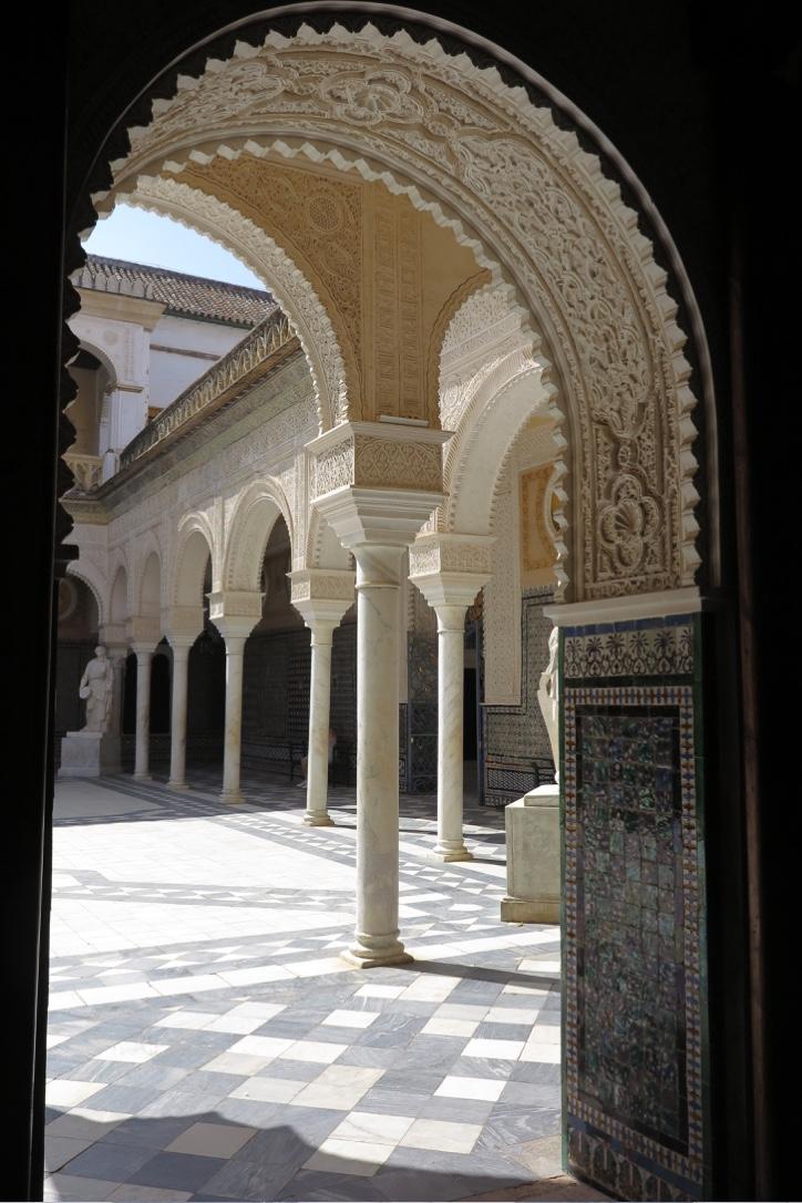 Archway at Casa de Pilatos Seville