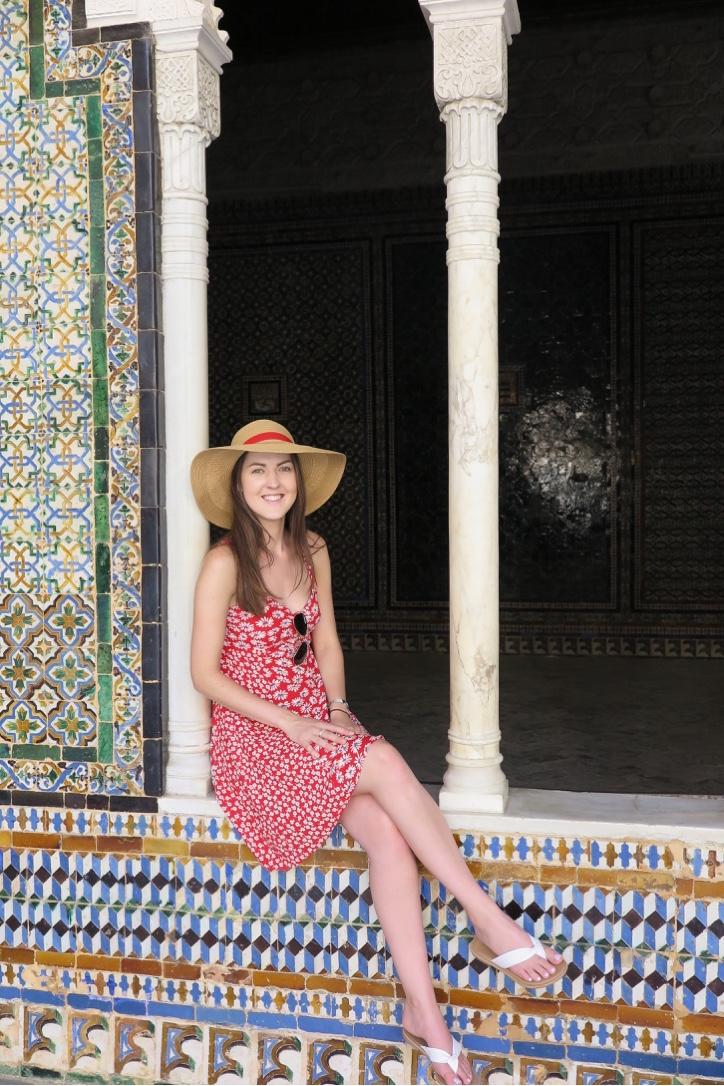 Mosaics at Casa de Pilatos Seville