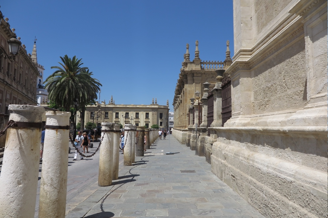 Seville Cathedral Surroundings