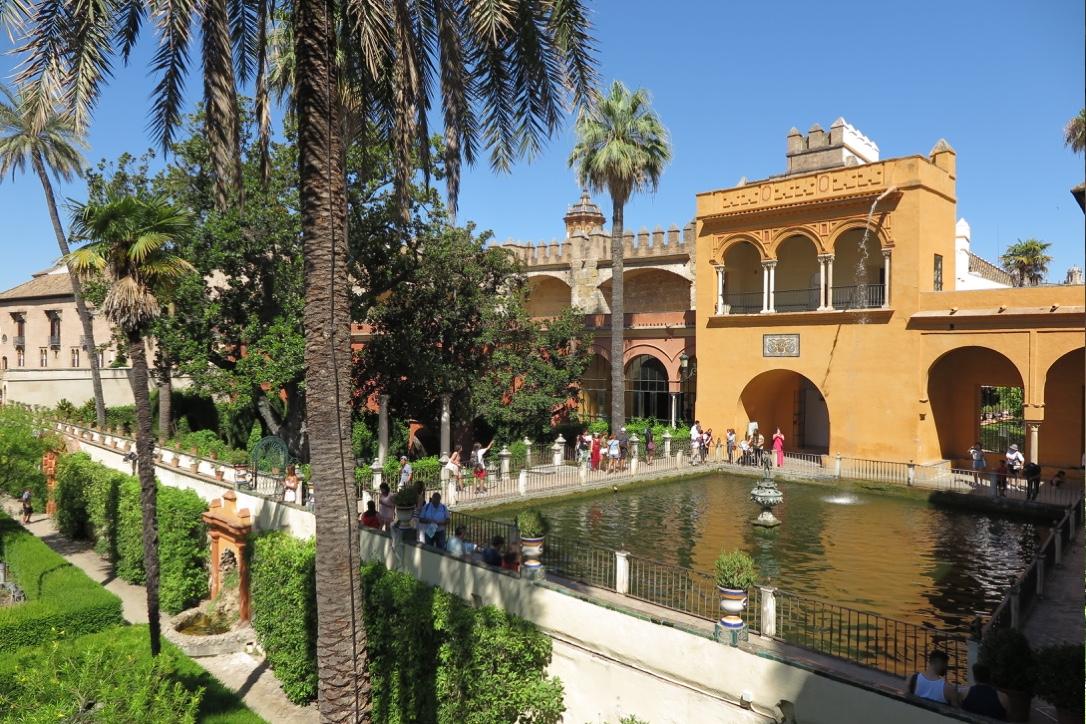 Royal Alcazar Gardens Seville