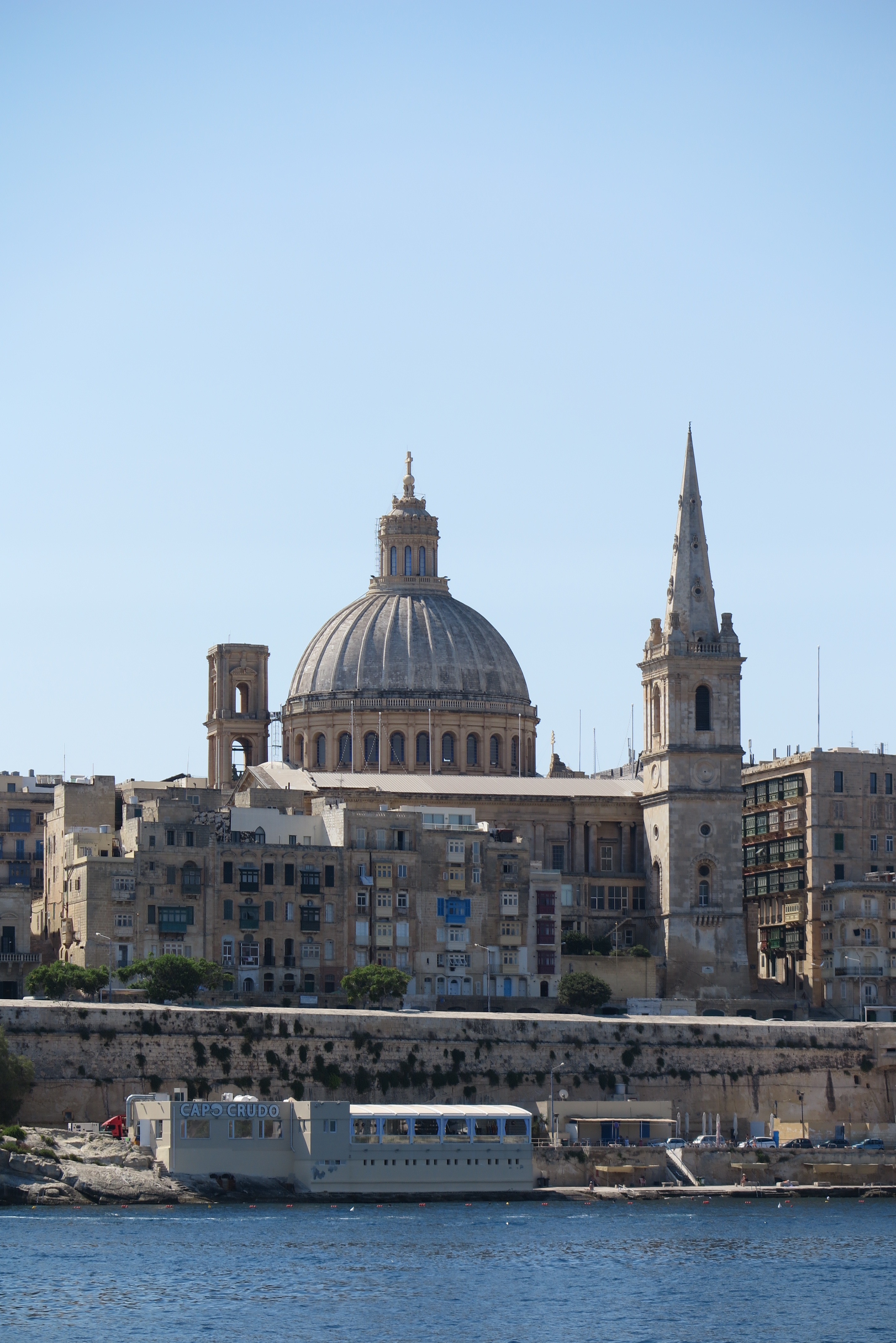 Valletta harbour Malta