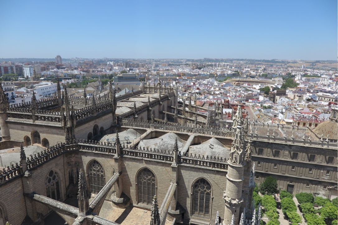 VIEW FROM SEVILLE CATHEDRAL TOWER