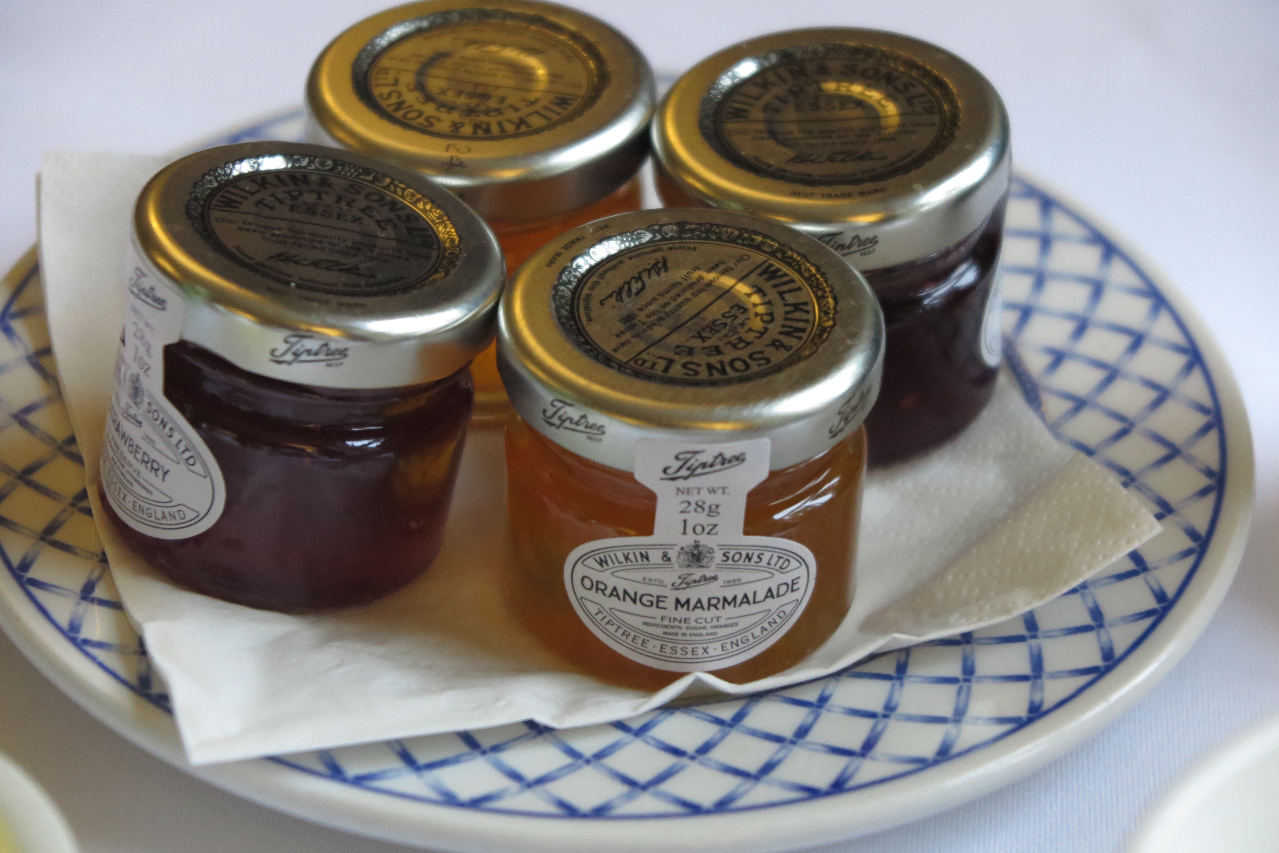 Breakfast at Beechfield House Hotel Wilkins Jam