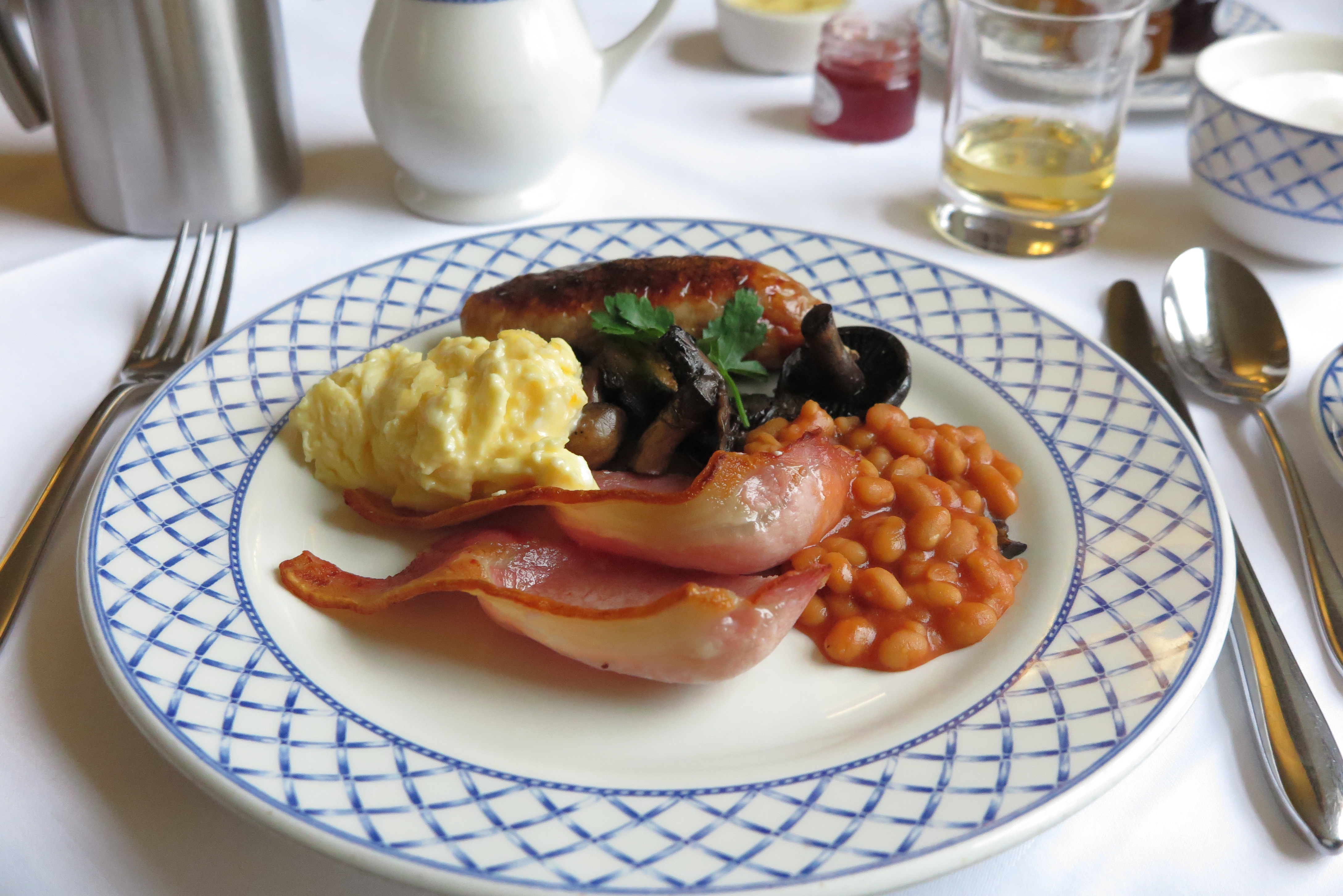 Breakfast at Beechfield House Hotel