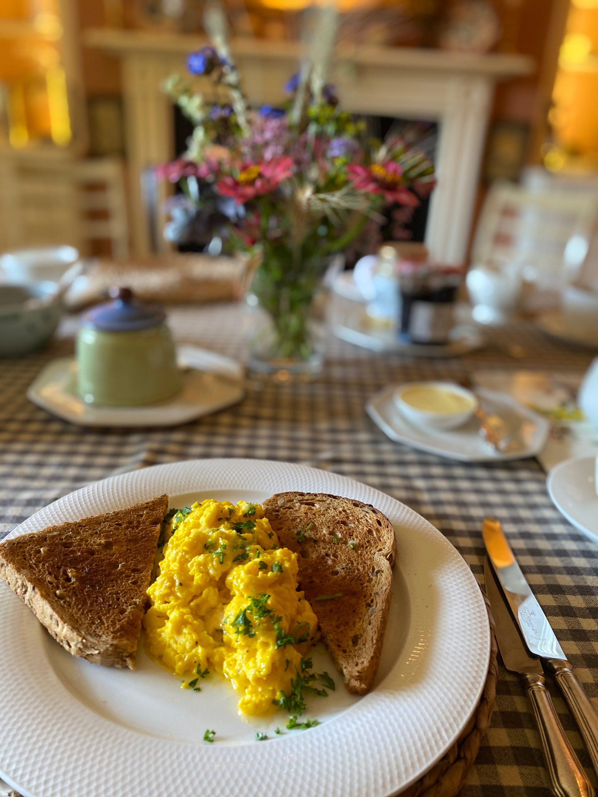 Farmhouse breakfast